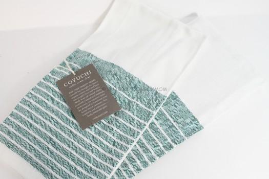 Coyuchi Woven Towel Set