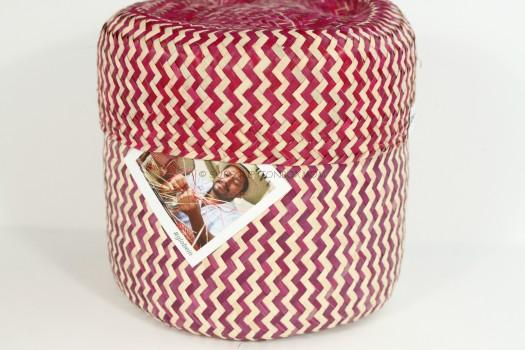 GlobeIn Signature Palm Leaf Basket