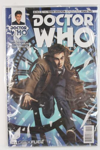 Doctor Who: The Tenth Doctor Adventures Year Two #1 Comic Book