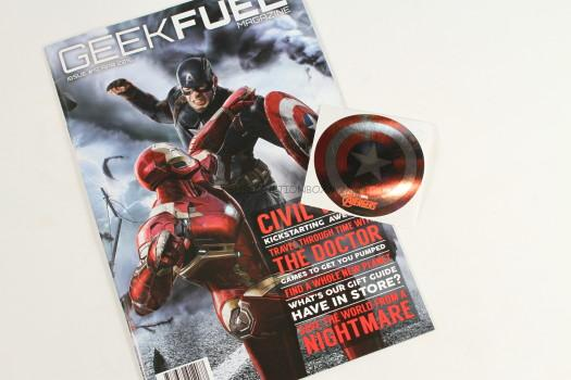 Geek Fuel magazine