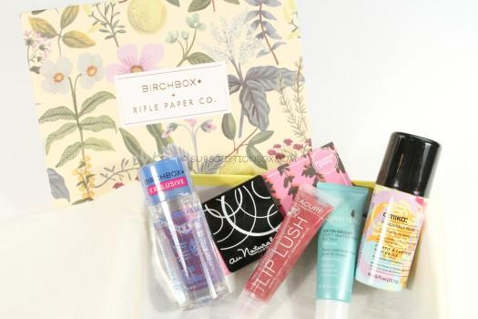 Birchbox April 2016 Review