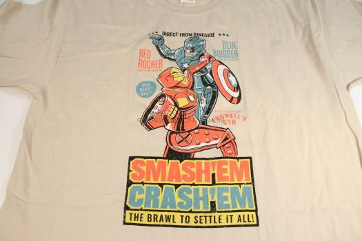 Smash'Em Crash'Em The Brawl to Settle It All T-Shirt