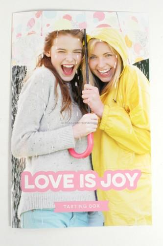 Love is Joy