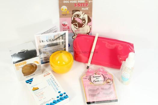 Beauteque Monthly April 2016 BB Bag Review