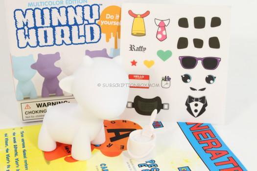Kidrobot Munny World 6.5 Inch Figure - Raffy