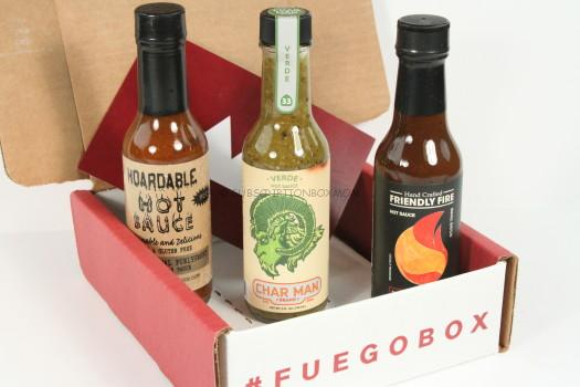 Fuego Box April 2016 Review