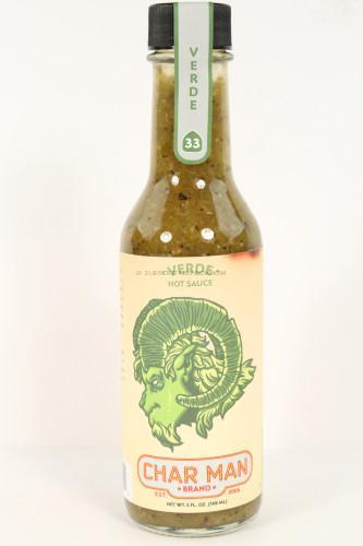 Char Man Brand Hot Sauce - Verde