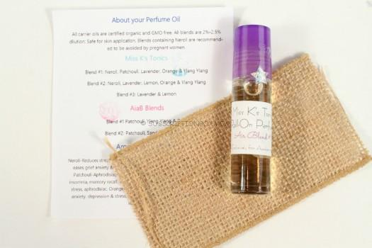 Miss K's Tonics Roll On Perfume Blend 1