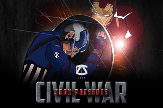 Marvel Civil War Collector's Box Now Available
