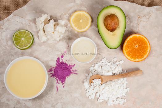Lotion-Bar-ingredients