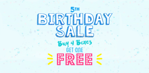 Vegan Cuts 5th Birthday Sale