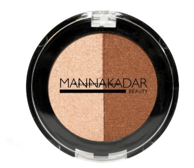 Manna Kadar Cosmetics Bronzer/Highlight Split Pan