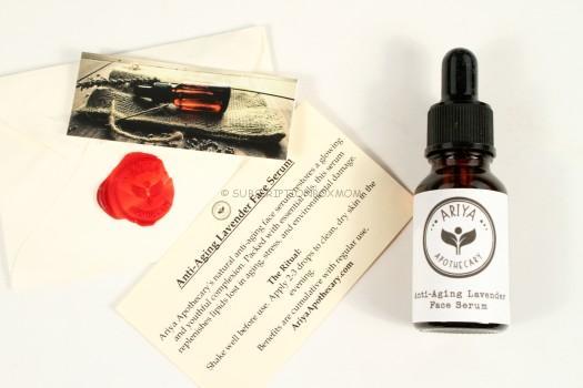 Ariya Apothecary Anti-Aging Lavender Face Serum