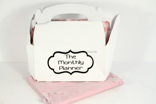 The Monthly Planner Box