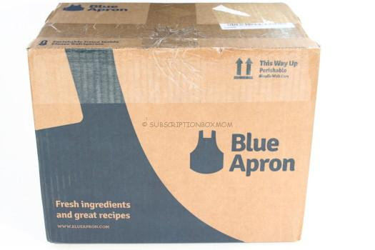 Blue Apron July 2016 Review
