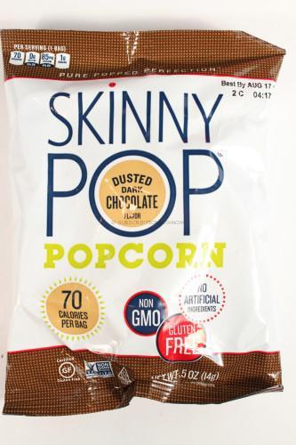Skinny Pop Dark Chocolate Popcorn