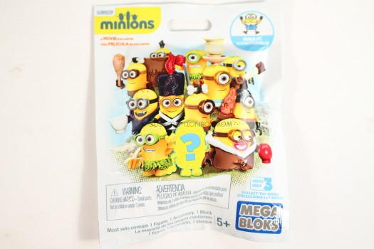 Mega Bloks Minions Blind Pack Series III Buildable Figure