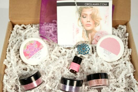 Orglamix Beauty Box May 2016 Review