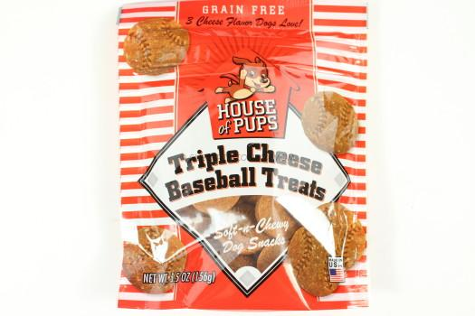 House of Pups Triple Cheese Baseball Treats