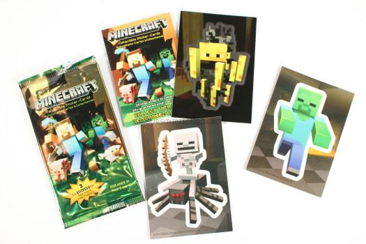 Minecraft Foil Sticker Pack