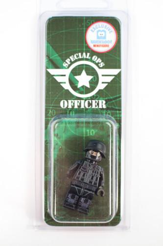 Special Ops Officer Custom 100% LEGO minifig