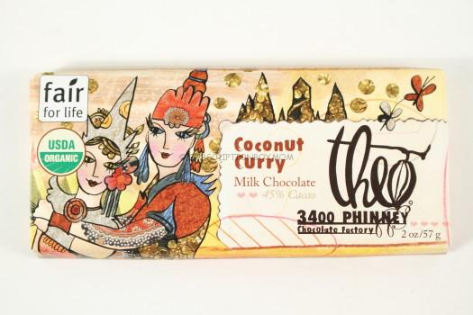 Theo Chocolate Coconut Curry Bar