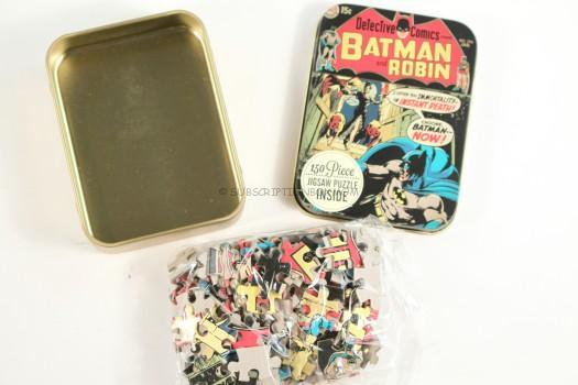 Batman Jigsaw Puzzle Tin