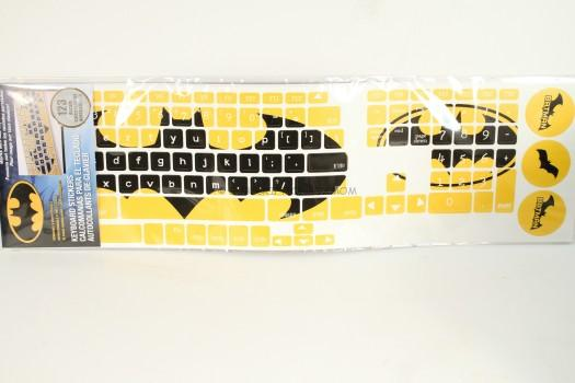 Batman Keyboard Peel and Stick Stickers