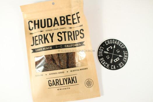 Chudabeef Jerk Strips in Garliyak