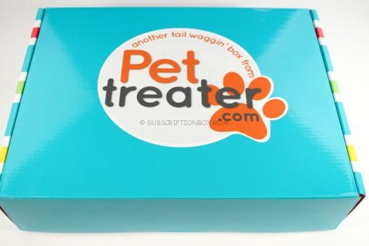 Pet Treater Box October 2016 Theme Spoiler