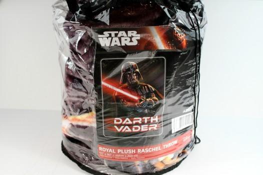 Disney Star Wars Darth Vader Plush Throw Blanket