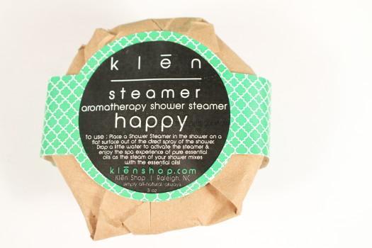 Klen Shower Steamer in Happy
