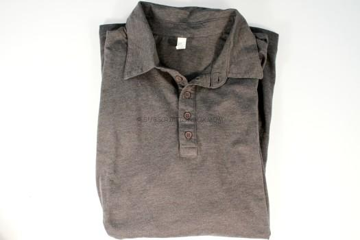 Canvas Dark Grey Heather Polo Shirt