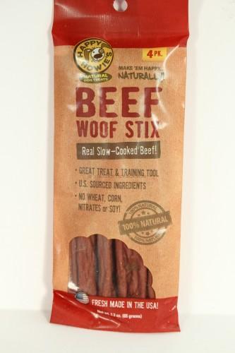 Happy Howie Beef Woof Stix