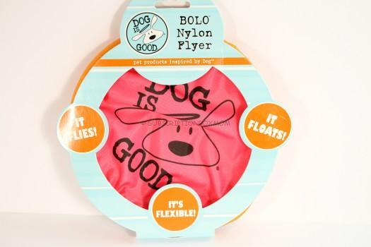 Dog Is Good Nylon Flyer