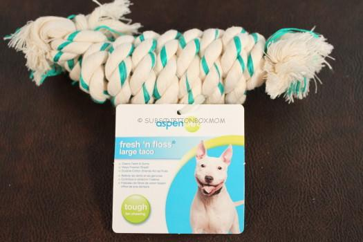 Aspen Pet Fresh 'n Floss Large Taco