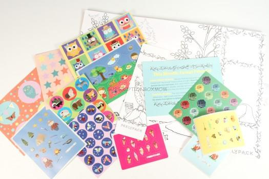 PeelyPack April 2016 Sticker Subscription Review
