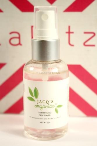 Jacq's Organics Revitalizing Sweet Orange Face Toner
