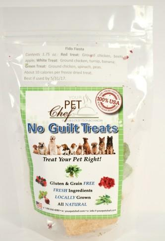 Your Pet Chef No Guilt Treats in Fido Fiesta