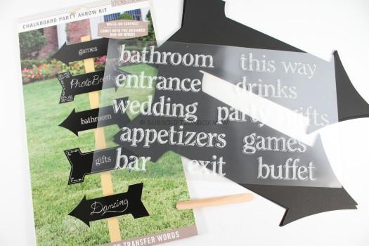 K&Company Chalk It Now Chalkboard Cardstock Die-Cuts, Arrows