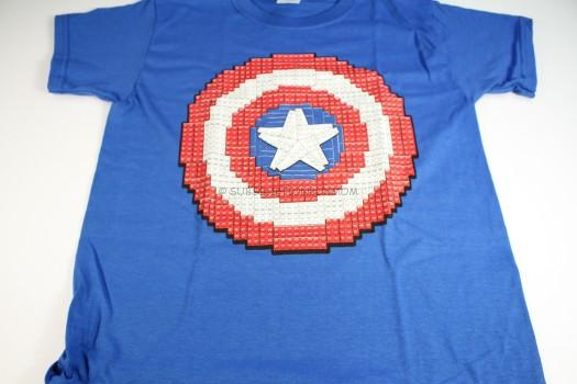 LEGO Captain America shield