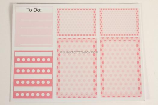 To Do/Pink Sticker