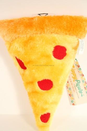 ZippyPaws Squeakie Emojiz Squeaky Plush Dog Toy (Pizza Slice)