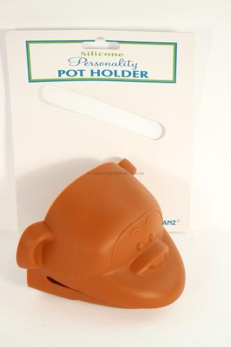 Ganz Silicone Personality Pot Holder Monkey