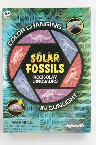 Toysmith Solar Fossils Playset