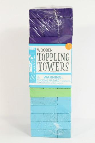 Wooden Toppling