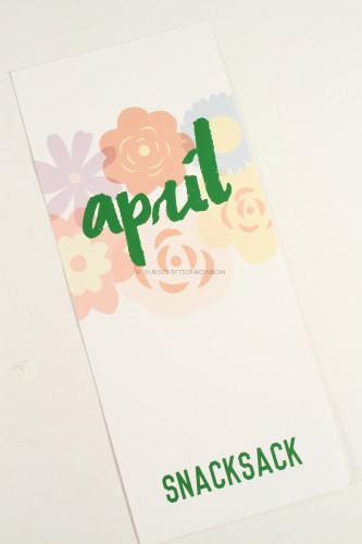 SnackSack Card
