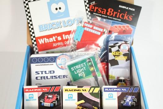 Brick Loot April 2016 Review