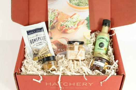 Hatchery April 2016 Tasting Box Review