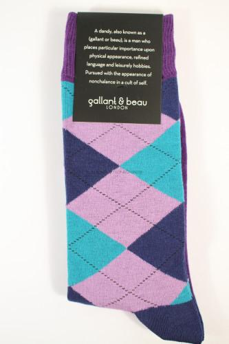 Gallant & Beau King's Rd Socks